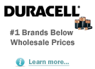 Duracell - Brand Name Batteries